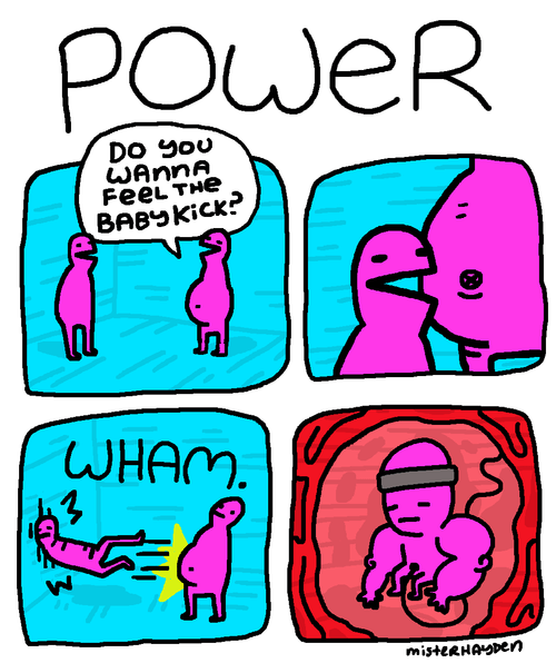 Babies,pregnant,power,web comics