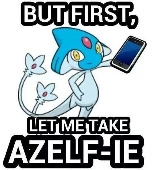Pokémon azelf selfie - 8211306496