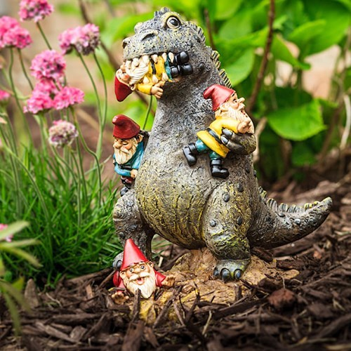 lawn gnome godzilla design g rated win - 8211448832