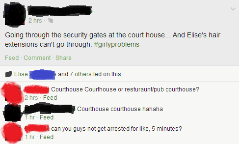 facepalm courthouse arrest failbook g rated