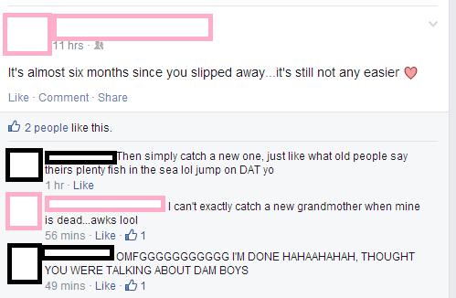 Awkward,oops,facebook