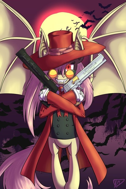flutterbat,Fan Art,alucard