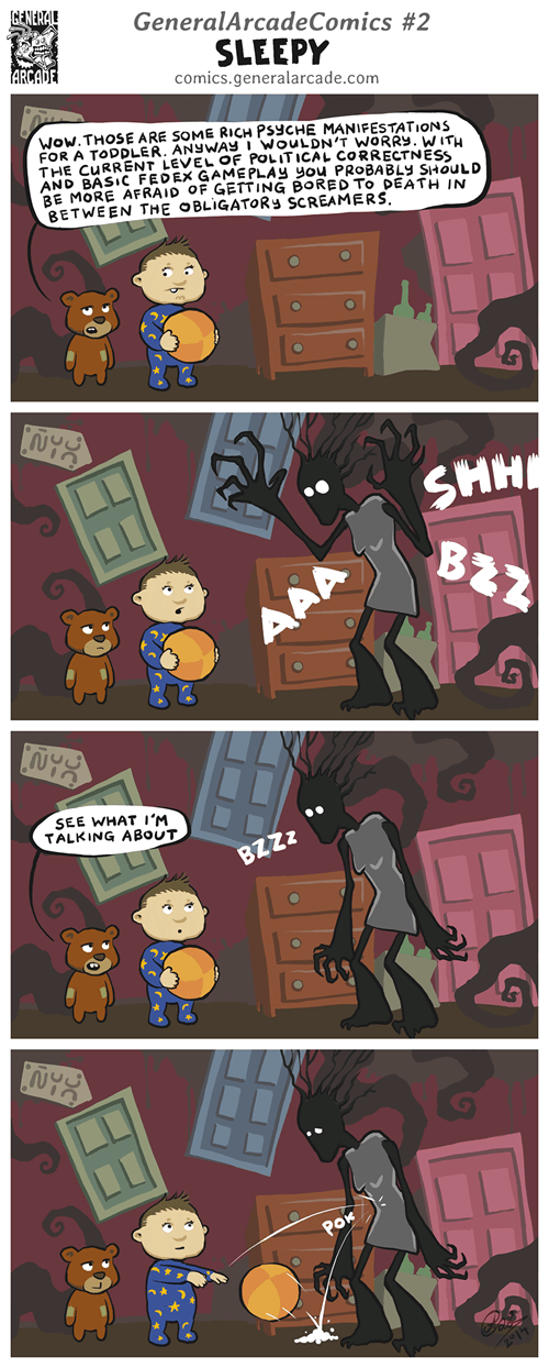 among the sleep,scary games,web comics