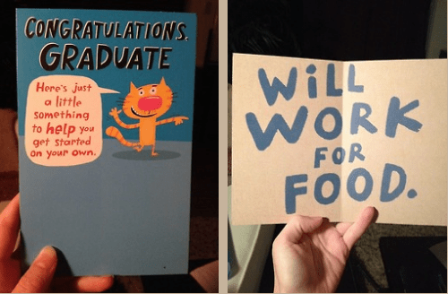 graduation work cards funny g rated School of FAIL - 8212301824