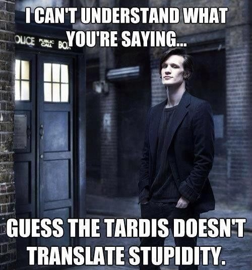 11th Doctor dumb - 8212339456