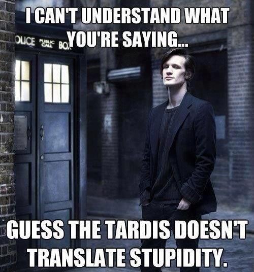 11th Doctor dumb - 8212339456