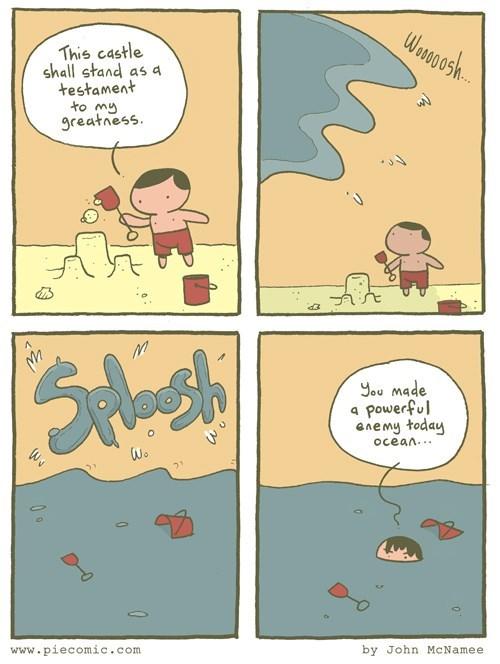 nature sand castle water web comics beaches - 8212379648