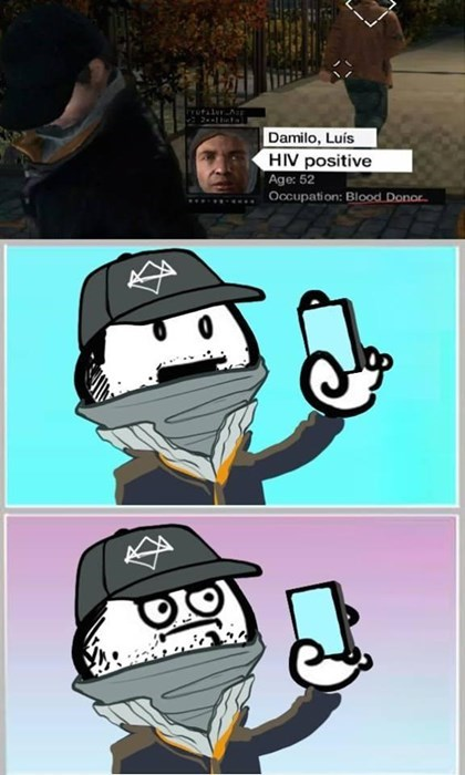 scumbag,Watch_dogs,hiv