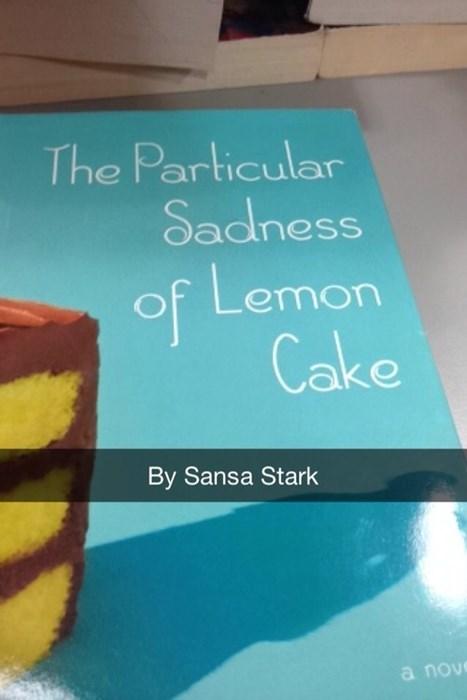 lemon cakes sansa stark - 8212397312