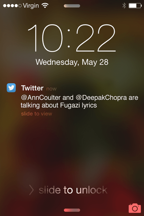 twitter what Ann Coulter Deepak Chopra
