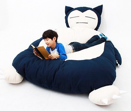 bean bag bed shut up and take my money snorlax design - 8212512256