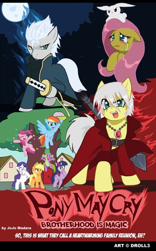 devil may cry,Fan Art,ponify