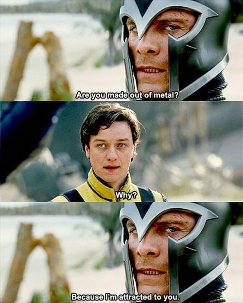 Magneto,puns,professor x