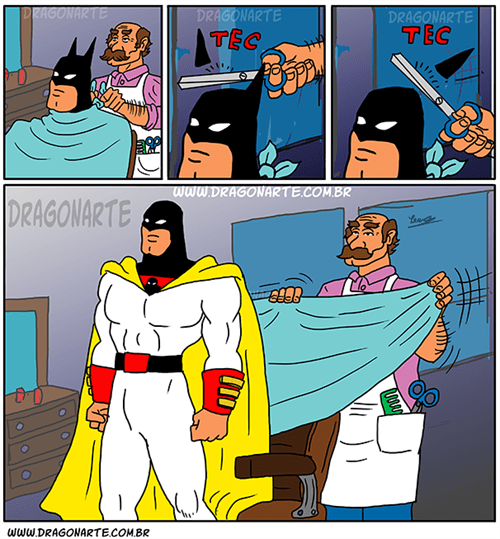 space ghost,batman,web comics