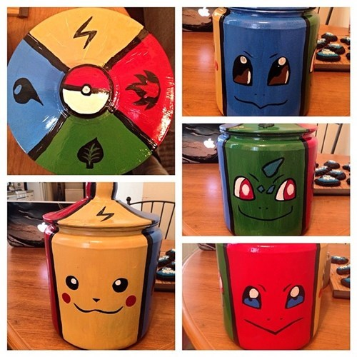 Pokémon awesome fanmade cookie jar - 8213625600