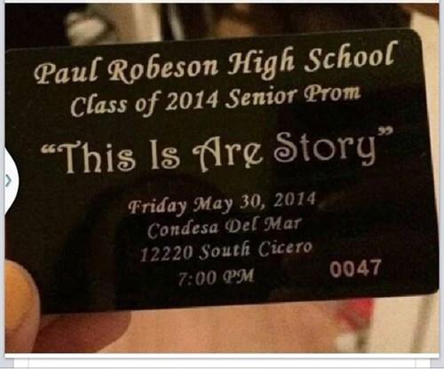 grammar high school prom funny - 8213628672
