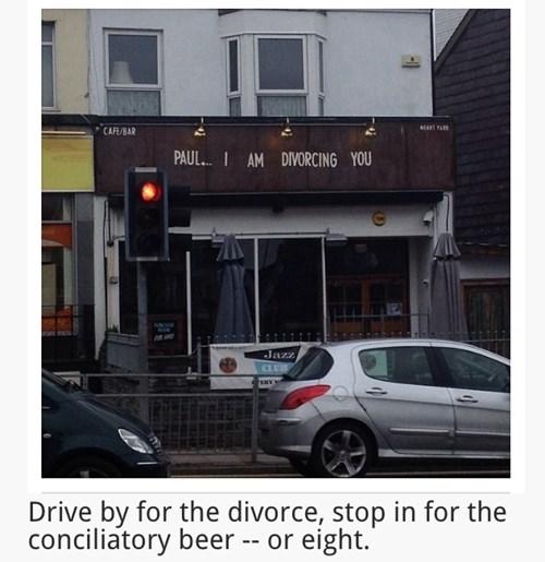 beer wtf pub divorce funny - 8213681920
