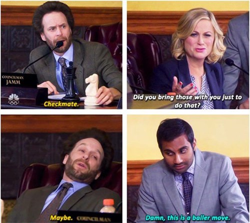 Like a Boss,parks and recreation,chess