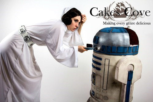 cake,star wars,baking,r2-d2,nerdgasm