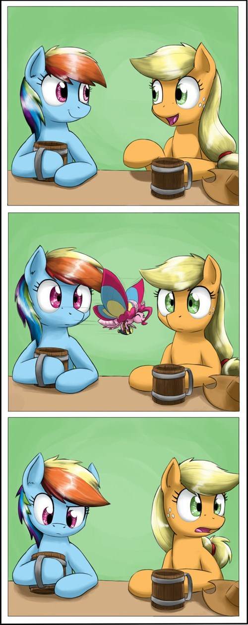 apple jack,rainbow dash,web comics