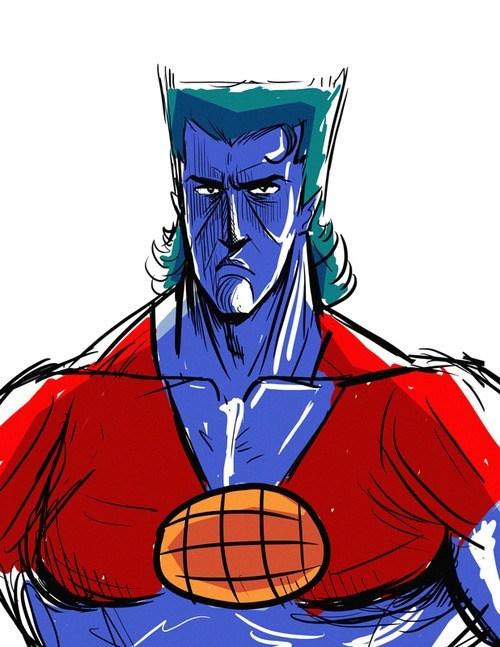 crossover Fan Art captain planet - 8214265856