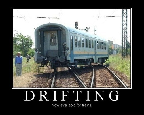 wtf drifting trains funny - 8214685952