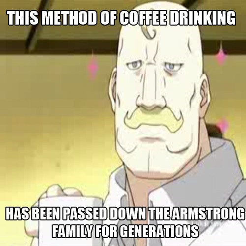 anime fullmetal alchemist coffee - 8214744064