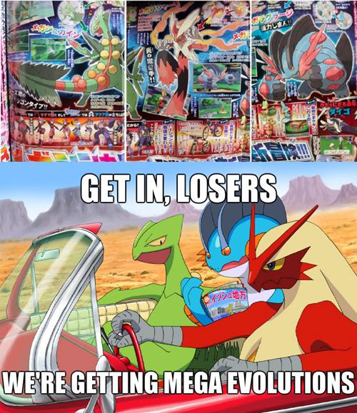 starters,mega evolutions,mega