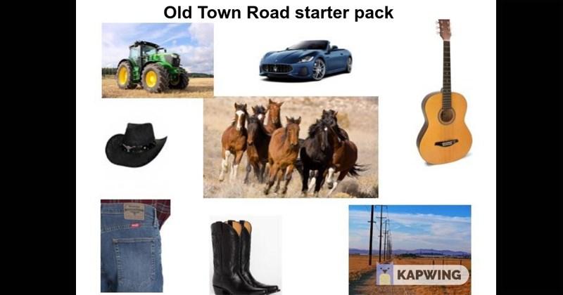 starter packs, funny starter packs