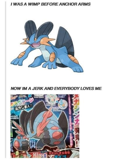 swampert mega evolution