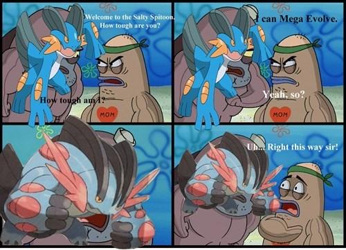 Memes,mega swampert,mega evolution