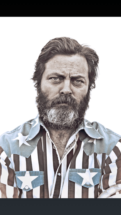 ron swanson Nick Offerman - 8215472128