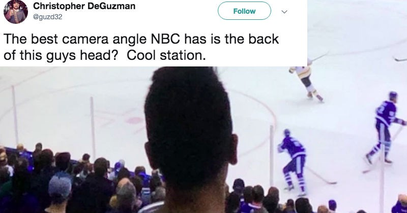 twitter sports hockey fan ridiculous reaction funny - 8215813