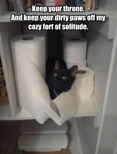 toilet paper Cats black cat - 8215825920