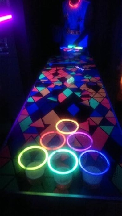 beer pong funny college black light after 12 g rated - 8216061184