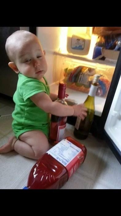 kids funny wine wtf - 8216121344