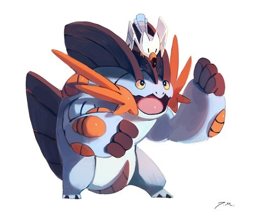 Fan Art mega swampert - 8216582656