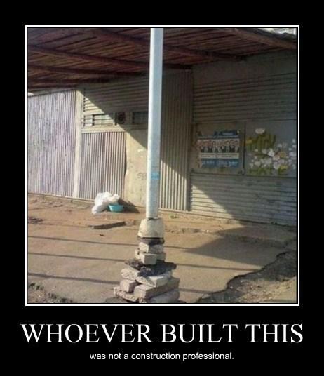 bad idea construction idiots funny - 8216931584