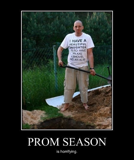 scary prom daughter funny Father - 8216932608