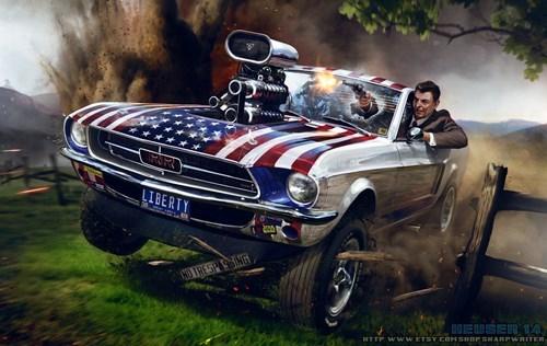art Ronald Reagan - 8216951552