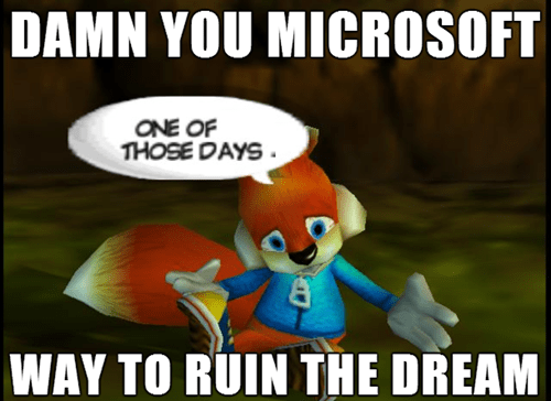 conker,bad fur day