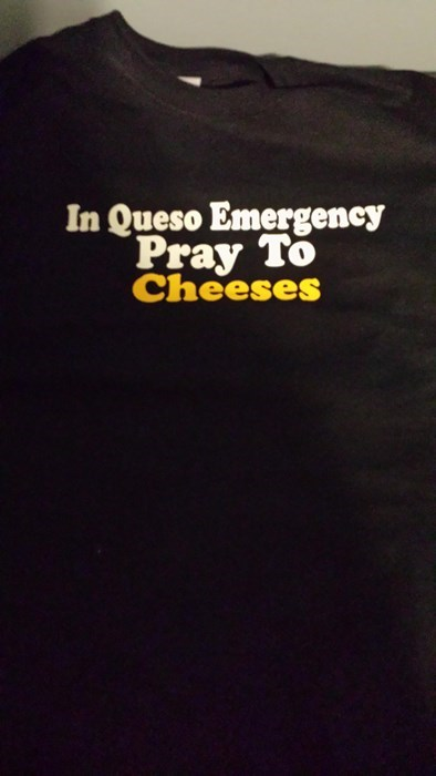 cheese,poorly dressed,puns,t shirts