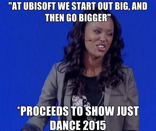 Ubisoft,Just Dance,aisha tyler,video games,E32014