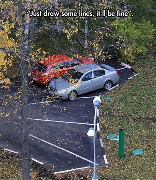 monday thru friday FAIL parking lot g rated - 8217136128