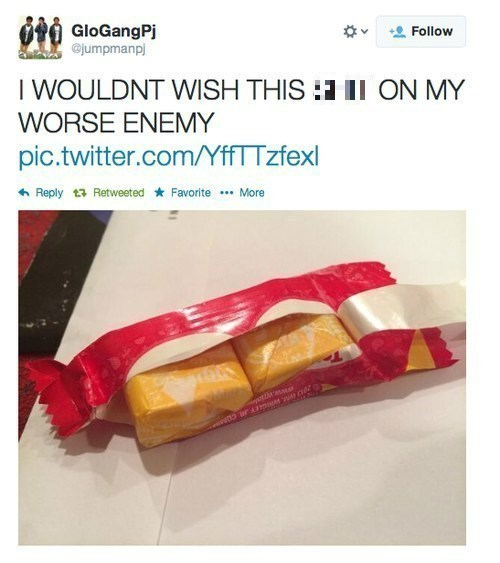 candy rage twitter starburst failbook