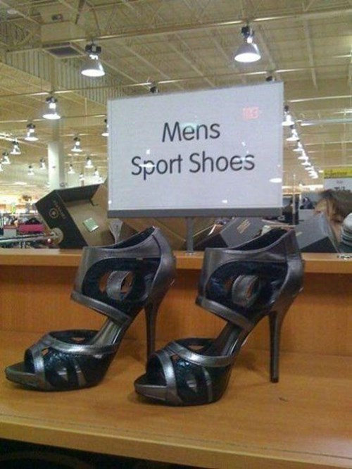 shoes sign heels poorly dressed g rated