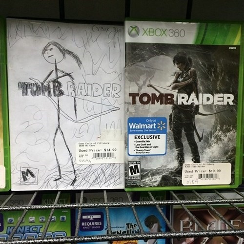 Close Enough Tomb Raider seems legit - 8217277696