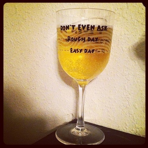 wine glass bad day funny - 8217380608