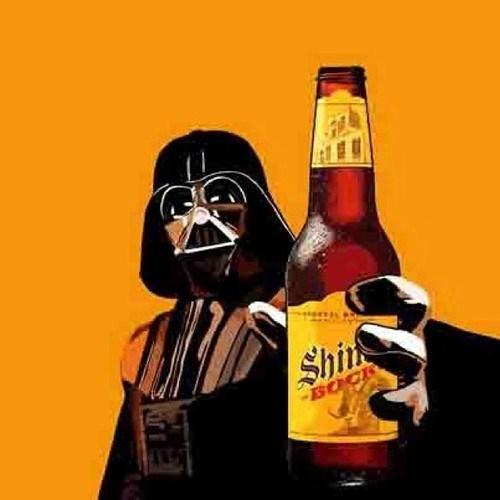 beer shiner bock funny darth vader - 8217386496