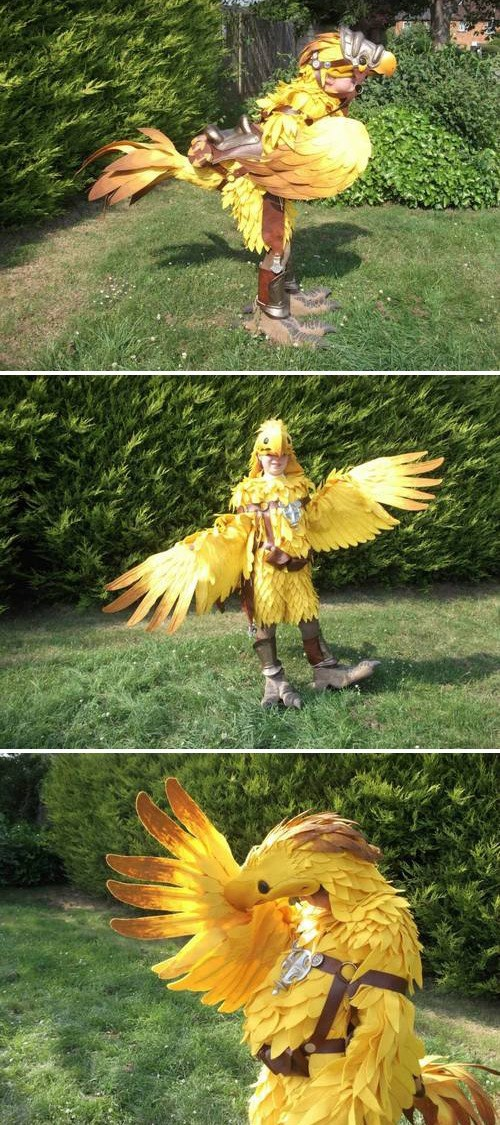cosplay,final fantasy,chocobo
